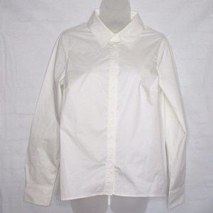 NWOT Universal Standard White Button Up Shirt